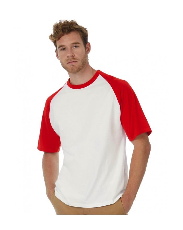 T-Shirt Base-Ball Tee-shirts