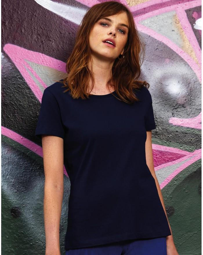 T-Shirt Femme Inspire Plus T - Vêtements & sacs Bio Personnalisés avec marquage broderie, flocage ou impression. Grossiste ve...