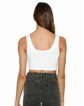 Femme Sans Manches Crop Top