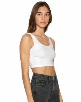 Crop Top Femme Sans Manches 8384W - Tee-shirt Personnalisé avec marquage broderie, flocage ou impression. Grossiste vetements...