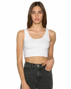 Crop Top Femme Sans Manches - Tee-shirt Personnalisé avec marquage broderie, flocage ou impression