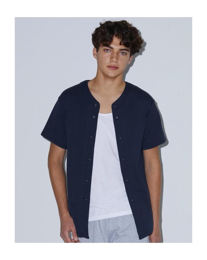 Veste Baseball épaisse coton Jersey - Sweat Personnalisé avec marquage broderie, flocage ou impression. Grossiste vetements v...