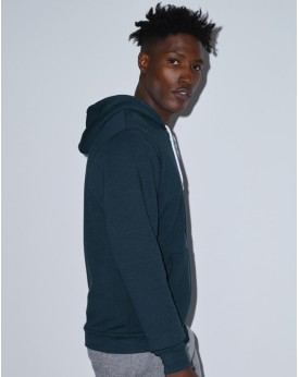 Sweat à Capuche Unisexe Flex Zip - Sweat Personnalisé avec marquage broderie, flocage ou impression. Grossiste vetements vier...