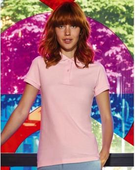 Polo Femme Inspire - Vêtements & sacs Bio Personnalisés avec marquage broderie, flocage ou impression. Grossiste vetements vi...
