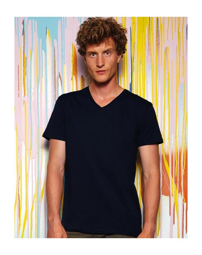 T-Shirt Homme Inspire V - Vêtements & sacs Bio Personnalisés avec marquage broderie, flocage ou impression. Grossiste vetemen...