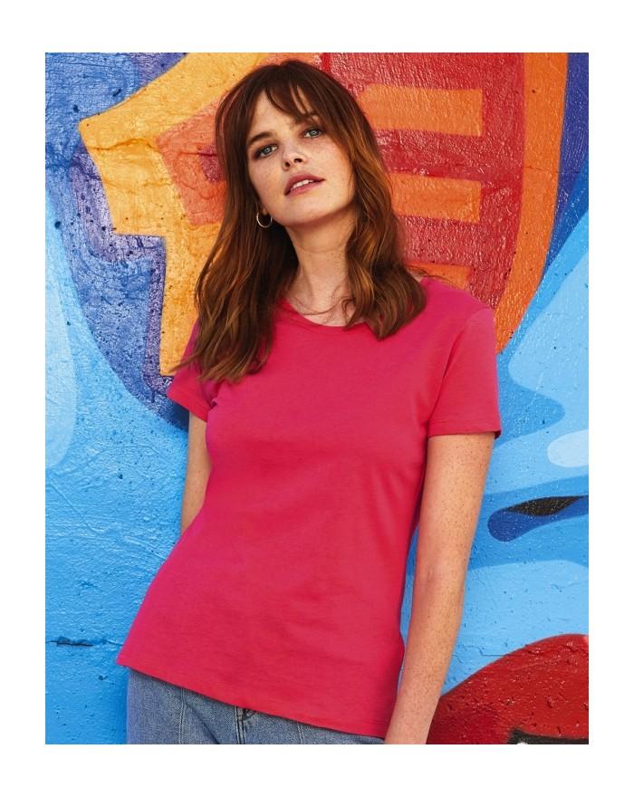 T-Shirt Femme Inspire T - Vêtements & sacs Bio Personnalisés avec marquage broderie, flocage ou impression. Grossiste vetemen...