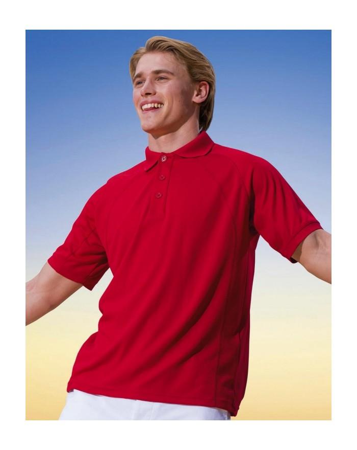 Polo Coolweave Mèche - Polo Personnalisé avec marquage broderie, flocage ou impression. Grossiste vetements vierge à personna...