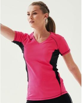 T-Shirt Femme Beijing Tissu léger piqué ISOVENT - Vêtements de Sport Personnalisés avec marquage broderie, flocage ou impression
