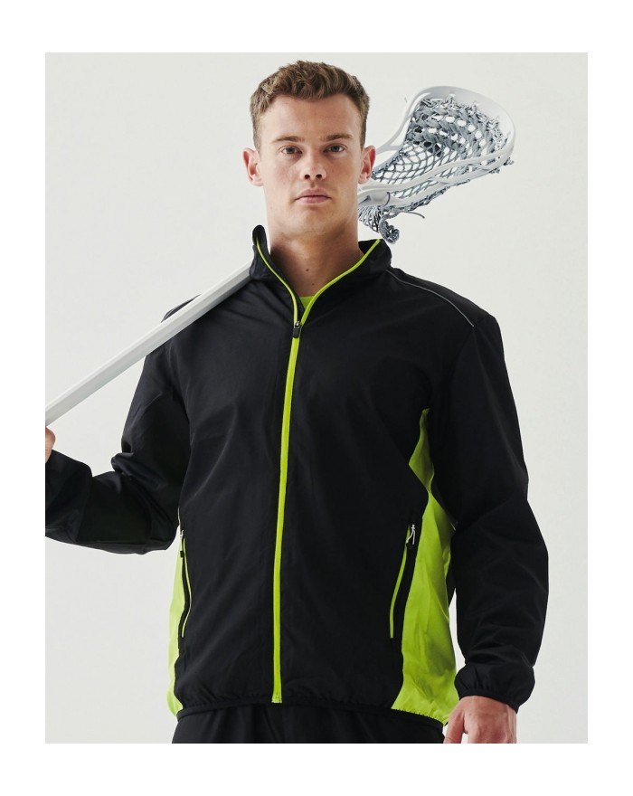 Veste de Survêtement Athens Finition déperlante - Vêtements de Sport Personnalisés avec marquage broderie, flocage ou impression