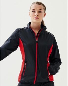 Veste de Survêtement Femme Athens Finition déperlante - Vêtements de Sport Personnalisés avec marquage broderie, flocage ou i...