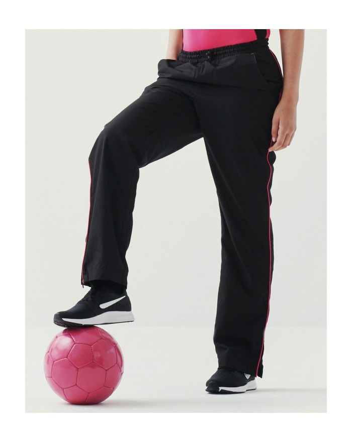 Pantalon de Survêtement Femme Athens Finition déperlante - Vêtements de Sport Personnalisés avec marquage broderie, flocage o...