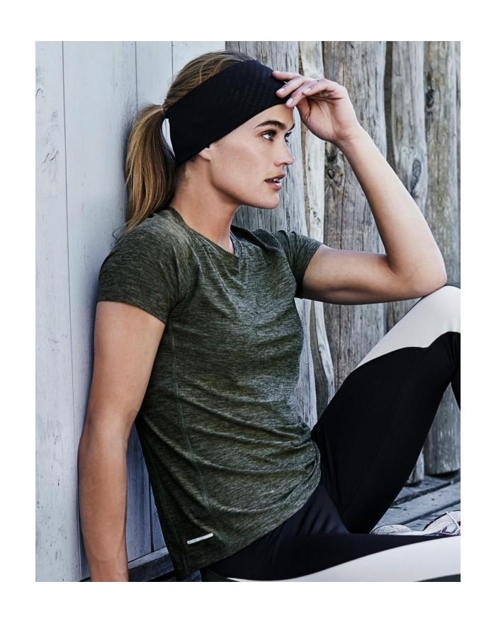 T-Shirt respirant Femme élasthanne Cooldry - Vêtements de Sport Personnalisés avec marquage broderie, flocage ou impression