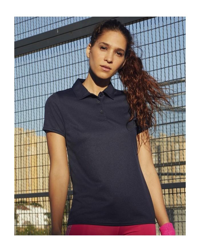 Polo respirant Femme Performance - Vêtements de Sport Personnalisés avec marquage broderie, flocage ou impression. Grossiste ...
