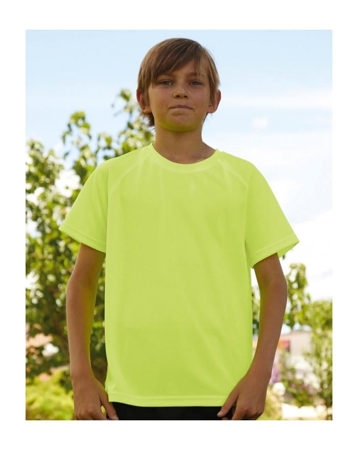 T-shirt Enfant respirant Performance - Vêtements de Sport Personnalisés avec marquage broderie, flocage ou impression. Grossi...