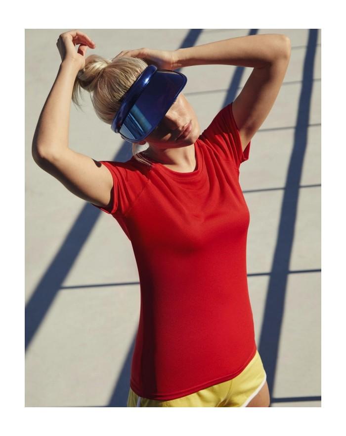 T-shirt respirant Femme Performance T - Vêtements de Sport Personnalisés avec marquage broderie, flocage ou impression. Gross...