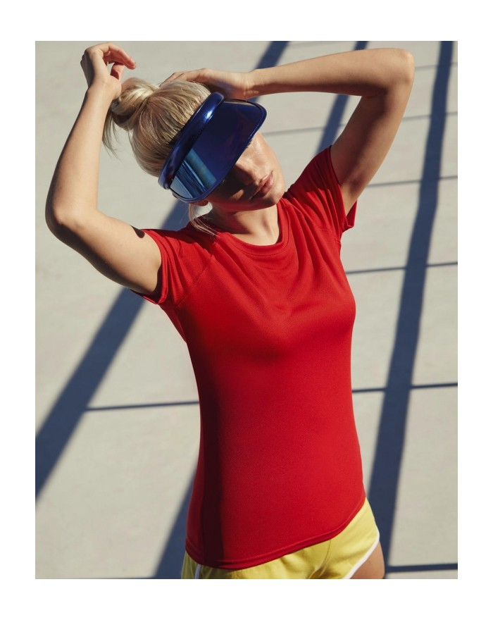 T-shirt respirant Femme Performance T - Vêtements de Sport Personnalisés avec marquage broderie, flocage ou impression