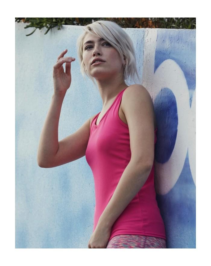 Débardeur respirant Femme Performance - Vêtements de Sport Personnalisés avec marquage broderie, flocage ou impression. Gross...