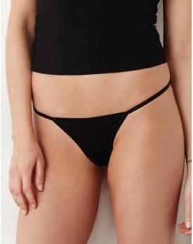 Coton Spandex Thong Bikini Sous-vêtements