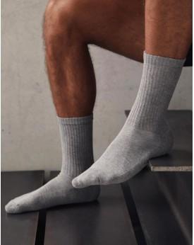 Chaussettes Crew 3 Pack - Sous-vêtements Personnalisés avec marquage broderie, flocage ou impression. Grossiste vetements vie...