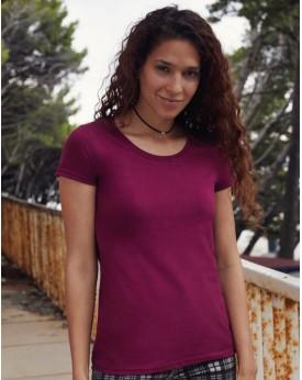 T-shirt Femme peigné et baguette Premium T - Tee-shirt Personnalisé avec marquage broderie, flocage ou impression. Grossiste ...