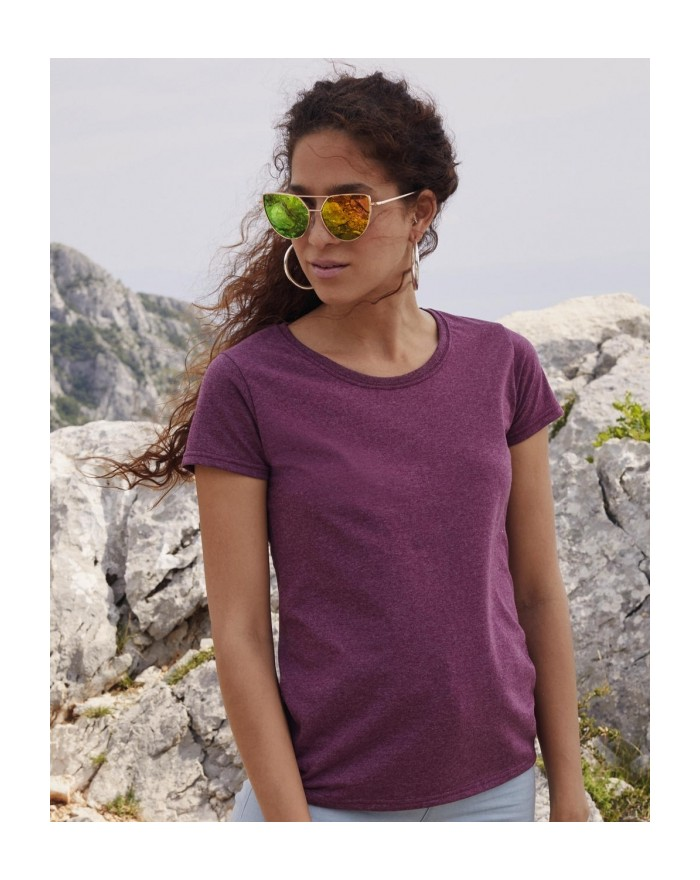 T-shirt Femme Valueweight T - Tee-shirt Personnalisé avec marquage broderie, flocage ou impression. Grossiste vetements vierg...