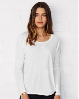 T-shirt manches longues viscose - Tee-shirt Personnalisé avec marquage broderie, flocage ou impression. Grossiste vetements v...