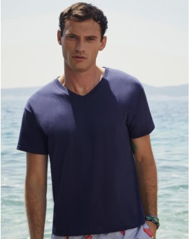 T-Shirt Col-V Original T - Tee-shirt Personnalisé avec marquage broderie, flocage ou impression. Grossiste vetements vierge à...