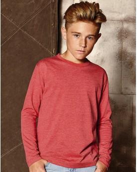 T-Shirt Garçons manches longues HD polycoton - Vêtements Enfant Personnalisés avec marquage broderie, flocage ou impression