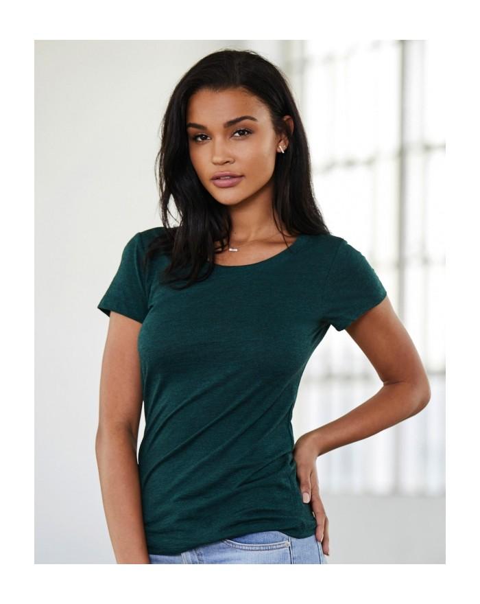 T-Shirt Triblend Ras de Cou  - Tee-shirt Personnalisé avec marquage broderie, flocage ou impression. Grossiste vetements vier...