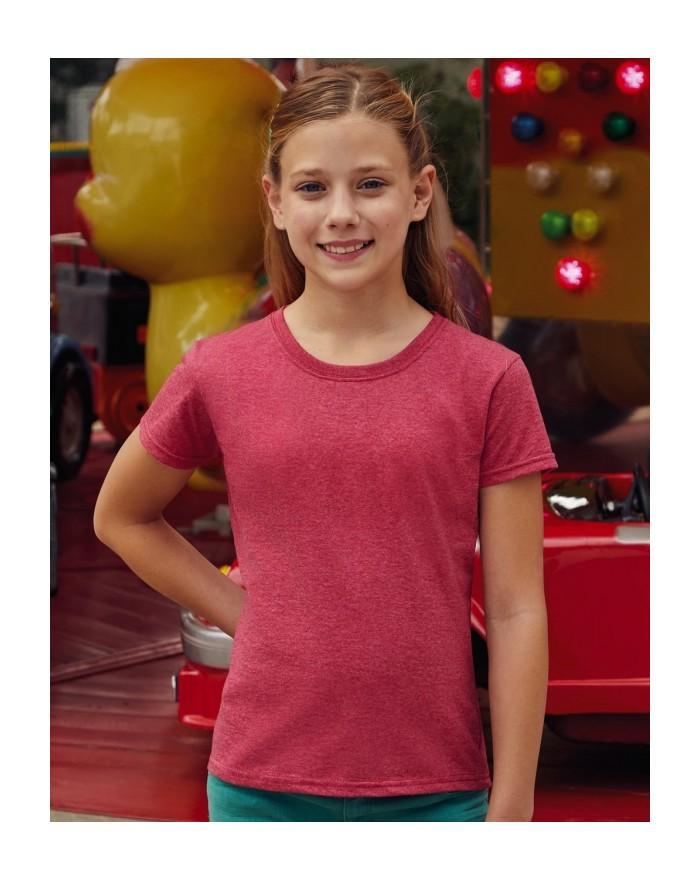 T-shirt Fille Valueweight T - Vêtements Enfant Personnalisés avec marquage broderie, flocage ou impression. Grossiste vetemen...