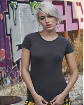 T-shirt Femme Sofspun T - Tee shirt Personnalisé avec marquage broderie, flocage ou impression. Grossiste vetements vierge à ...