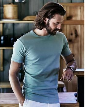 T-shirt Homme Interlock - Tee-shirt Personnalisé avec marquage broderie, flocage ou impression. Grossiste vetements vierge à ...