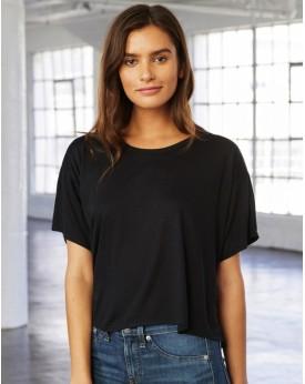 T-Shirt Boxy Viscose - Tee shirt Personnalisé avec marquage broderie, flocage ou impression. Grossiste vetements vierge à per...