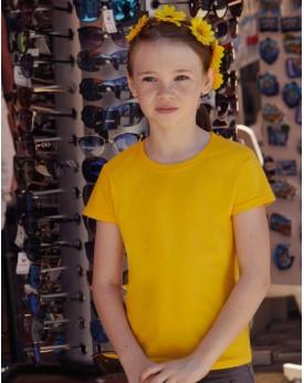 T-shirt Fille toucher super doux Sofspun T - Vêtements Enfant Personnalisés avec marquage broderie, flocage ou impression. Gr...