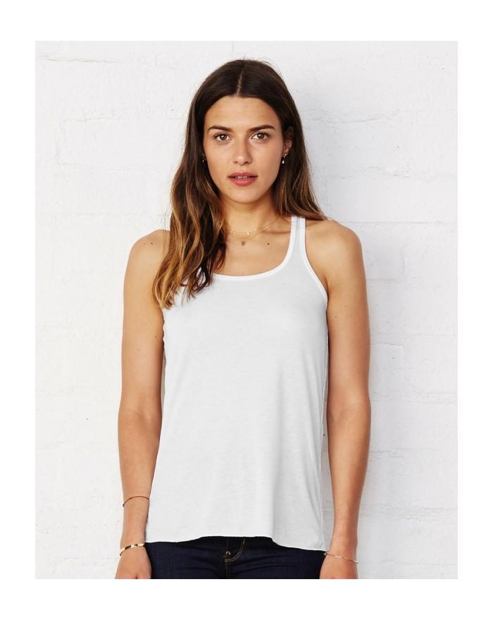 Débardeur Top Racerback - Tee shirt Personnalisé avec marquage broderie, flocage ou impression. Grossiste vetements vierge à ...