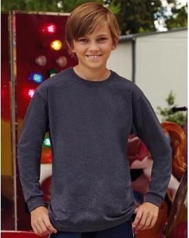 Enfant Valueweight Tee-Shirt Manches Longues Enfants