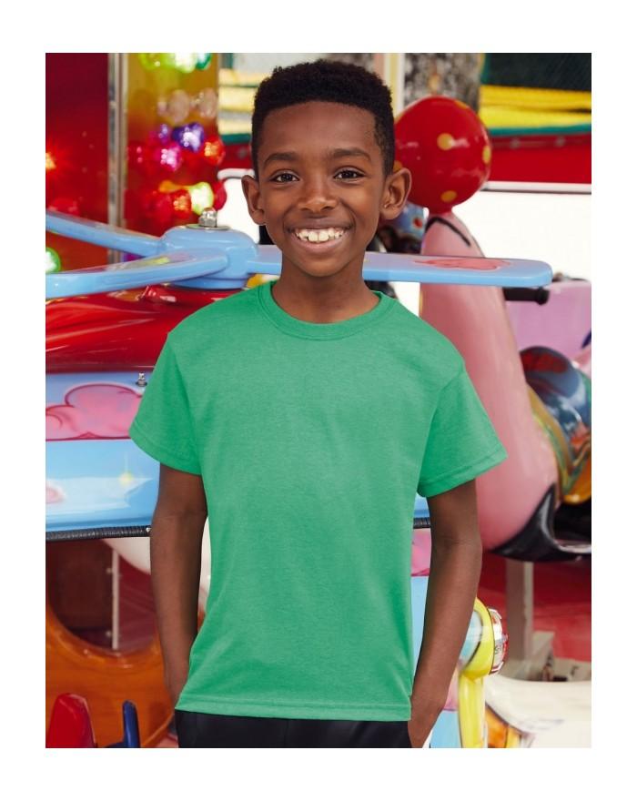 Tee-Shirt Enfant Valueweight - Vêtements Enfant Personnalisés avec marquage broderie, flocage ou impression. Grossiste veteme...