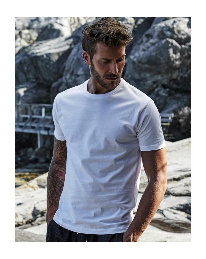 T-shirt homme Fashion coton longues fibres ·coton prérétréci 2 fois - Tee-shirt Personnalisé avec marquage broderie, flocage ...