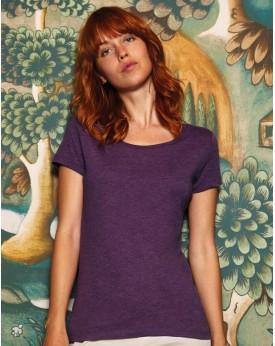 T-Shirt Femme Triblend - Tee-shirt Personnalisé avec marquage broderie, flocage ou impression. Grossiste vetements vierge à p...