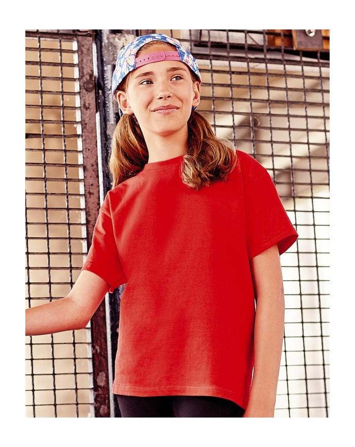 T-shirt Enfant Russell - Vêtements Enfant Personnalisés avec marquage broderie, flocage ou impression. Grossiste vetements vi...
