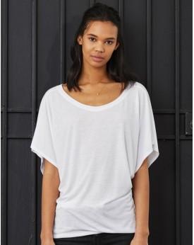 Fluide Manche Drapée Dolman T-Shirt Tee-shirts