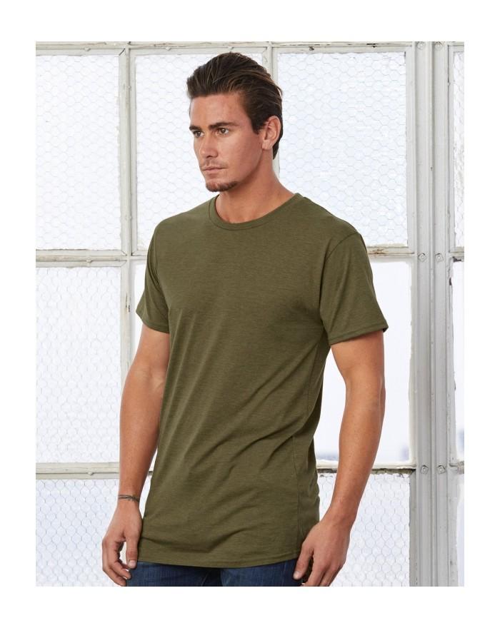 T-Shirt Homme coupe longue Urban - Tee-shirt Personnalisé avec marquage broderie, flocage ou impression. Grossiste vetements ...