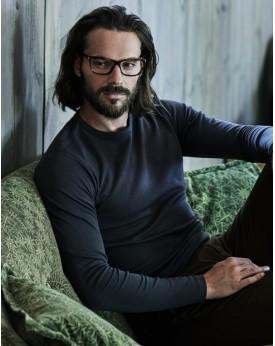 T-Shirt Homme Interlock LS - Tee-shirt Personnalisé avec marquage broderie, flocage ou impression. Grossiste vetements vierge...