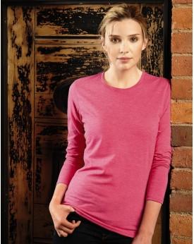 T-Shirt Femme Manches Longues HD polycoton - Tee-shirt Personnalisé avec marquage broderie, flocage ou impression. Grossiste ...