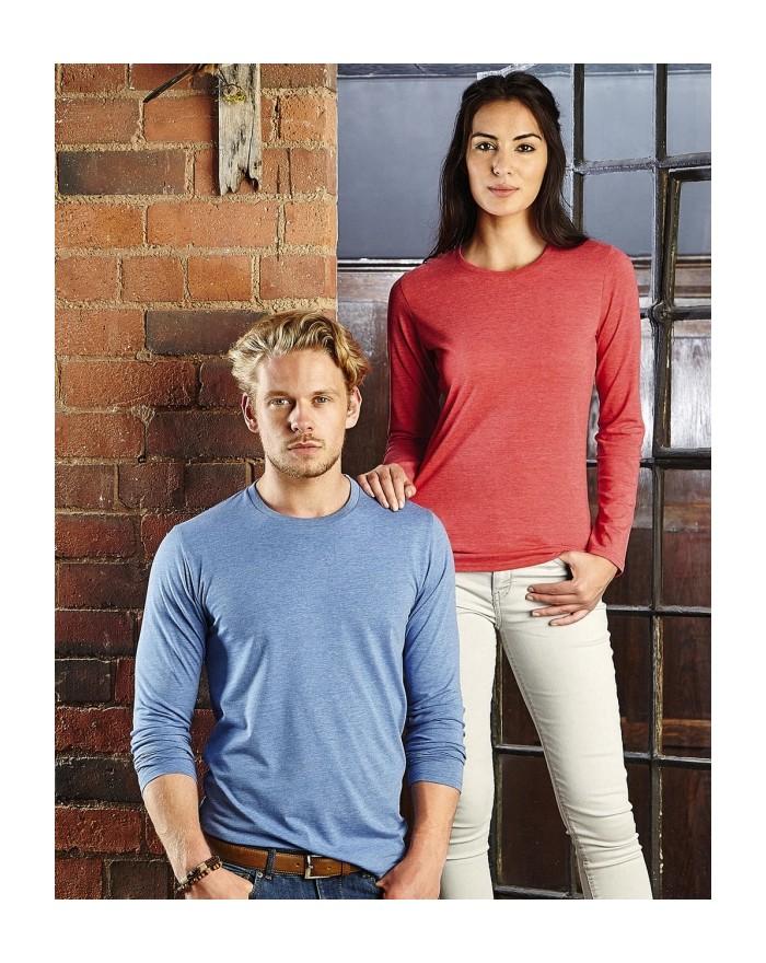 T-Shirt Homme manches longues HD polycoton - Tee shirt Personnalisé avec marquage broderie, flocage ou impression. Grossiste ...