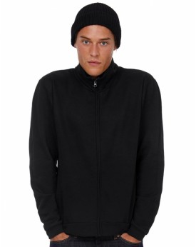 Sweat Unisexe ID.206 50/50 Full Zip - Sweat Personnalisé avec marquage broderie, flocage ou impression. Grossiste vetements v...