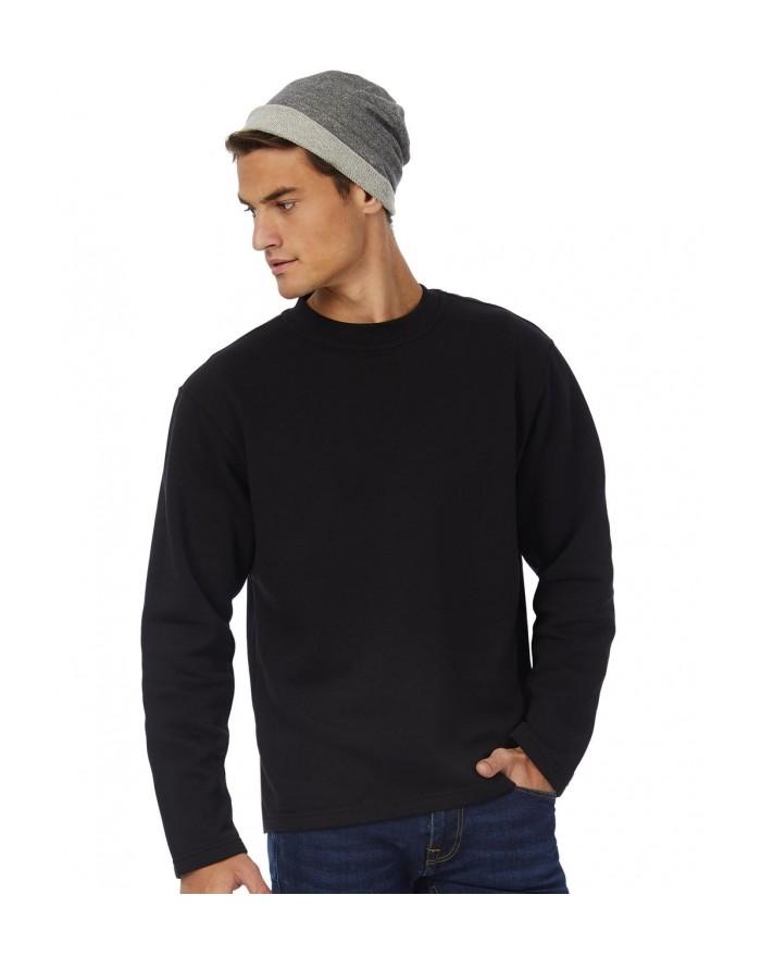 Sweatshirt Ourlet Ouvert - Sweat Personnalisé avec marquage broderie, flocage ou impression. Grossiste vetements vierge à per...