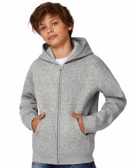 Sweat à Capuche Enfant Full Zip - Vêtements Enfant Personnalisés avec marquage broderie, flocage ou impression. Grossiste vet...