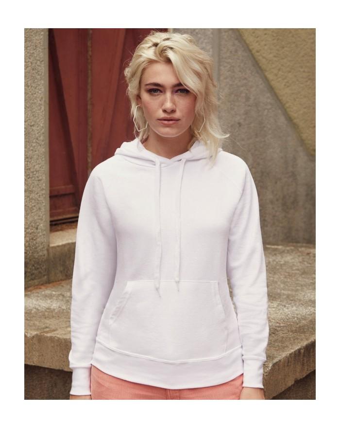 Sweat à Capuche Femme Lightweight - Sweat Personnalisé avec marquage broderie, flocage ou impression. Grossiste vetements vie...