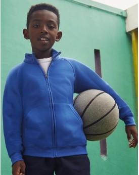 Veste Sweat Enfant Classique - Vêtements Enfant Personnalisés avec marquage broderie, flocage ou impression. Grossiste veteme...